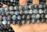 CKC753 15.5 inches 10mm round blue kyanite beads wholesale