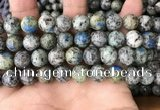 CKJ409 15.5 inches 10mm round k2 jasper beads wholesale