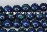 CLA403 15.5 inches 10mm round synthetic lapis lazuli beads