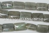 CLB166 15.5 inches 8*12mm rectangle labradorite gemstone beads