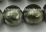 CLG849 15.5 inches 18mm round lampwork glass beads wholesale