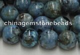 CLR28 16 inches 18mm round larimar gemstone beads wholesale