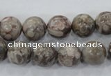 CMB05 15.5 inches 12mm round natural medical stone beads wholesale