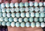 CME305 15.5 inches 8*11mm - 9*12mm pumpkin amazonite beads