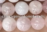 CMG410 15.5 inches 8mm round pink morganite beads wholesale