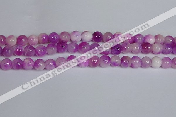 CMJ1096 15.5 inches 8mm round jade beads wholesale