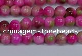 CMJ548 15.5 inches 6mm round rainbow jade beads wholesale
