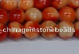 CMJ606 15.5 inches 10mm round rainbow jade beads wholesale