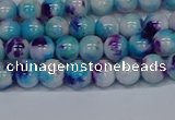 CMJ611 15.5 inches 6mm round rainbow jade beads wholesale