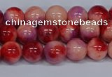 CMJ619 15.5 inches 8mm round rainbow jade beads wholesale