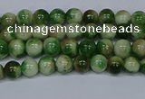 CMJ701 15.5 inches 4mm round rainbow jade beads wholesale