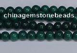 CMJ85 15.5 inches 4mm round Mashan jade beads wholesale