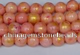 CMJ910 15.5 inches 4mm round Mashan jade beads wholesale