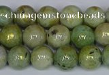 CMJ981 15.5 inches 6mm round Mashan jade beads wholesale