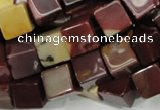CMK72 15.5 inches 12*12mm cube mookaite gemstone beads wholesale
