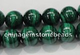 CMN155 AA grade 16mm round natural malachite beads Wholesale