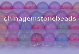 CMQ331 15.5 inches 6mm round colorful quartz beads wholesale