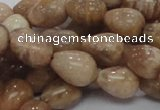 CMS10 15.5 inches 10*14mm teardrop moonstone gemstone beads wholesale