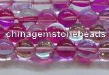 CMS1541 15.5 inches 6mm round synthetic moonstone beads wholesale