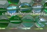 CMS1604 15.5 inches 12mm round synthetic moonstone beads wholesale