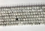 CMS2000 15.5 inches 6mm round white moonstone gemstone beads