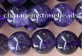 CNA1137 15.5 inches 8mm round amethyst gemstone beads wholesale