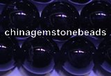CNA554 15.5 inches 12mm round A grade natural dark amethyst beads