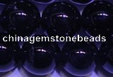 CNA564 15.5 inches 12mm round AA grade natural dark amethyst beads