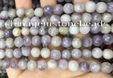 CNA687 15.5 inches 8mm faceted round lavender amethyst beads