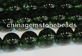 CNC442 15.5 inches 8mm round dyed natural white crystal beads