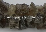 CNG1129 15.5 inches 8*12mm - 13*18mm nuggets smoky quartz beads