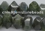 CNG1152 15.5 inches 10*14mm - 15*20mm faceted nuggets labradorite beads