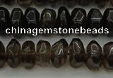CNG1181 15.5 inches 6*14mm - 8*14mm nuggets smoky quartz beads