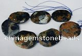 CNG1259 15.5 inches 40*50mm - 45*55mm freeform agate beads
