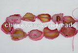 CNG1613 15.5 inches 25*35mm - 30*45mm freeform agate gemstone beads