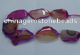 CNG2664 15.5 inches 35*45mm - 40*55mm freeform agate beads