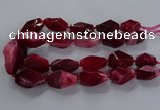 CNG2734 15.5 inches 15*30mm - 20*40mm nuggets agate beads
