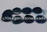 CNG2787 15.5 inches 35*40mm - 45*50mm freeform agate beads