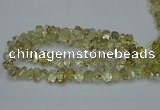 CNG2824 10*14mm - 13*18mm faceted nuggets lemon quartz beads