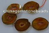 CNG2859 8 inches 40*45mm - 50*60mm freeform druzy agate beads