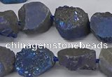 CNG2980 15.5 inches 12*16mm - 20*25mm freeform druzy agate beads
