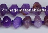 CNG3366 15.5 inches 10*14mm - 12*16mm nuggets agate beads