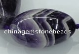 CNG356 15.5 inches 20*30mm - 30*40mm nuggets amethyst beads