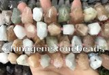 CNG3604 15.5 inches 13*20mm - 15*24mm faceted nuggets morganite beads