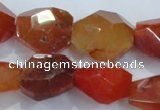 CNG392 15.5 inches 18*20mm – 22*25mm faceted nuggets agate beads