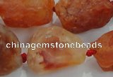 CNG433 15.5 inches 18*25mm � 32*40mm nuggets agate gemstone beads