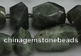CNG5280 15.5 inches 12*16mm - 18*25mm faceted nuggets labradorite beads