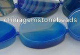 CNG5665 15.5 inches 22*30mm freeform agate gemstone beads