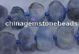 CNG5718 15.5 inches 10*14mm - 13*18mm faceted nuggets aquamarine beads