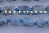 CNG5915 15.5 inches 4*6mm - 6*10mm nuggets rough larimar beads